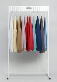 COLORFUL STANDARD Classic Crew Organic Cotton Sweatshirt - Flamingo