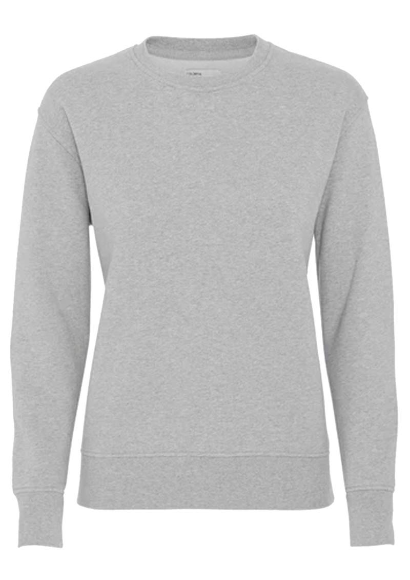 COLORFUL STANDARD Classic Crew Organic Cotton Sweatshirt - Heather Grey main image