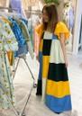 Farez Cotton Dress - Multi additional image