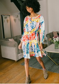 Pyrus Frances Drawstring Dress - Sienna
