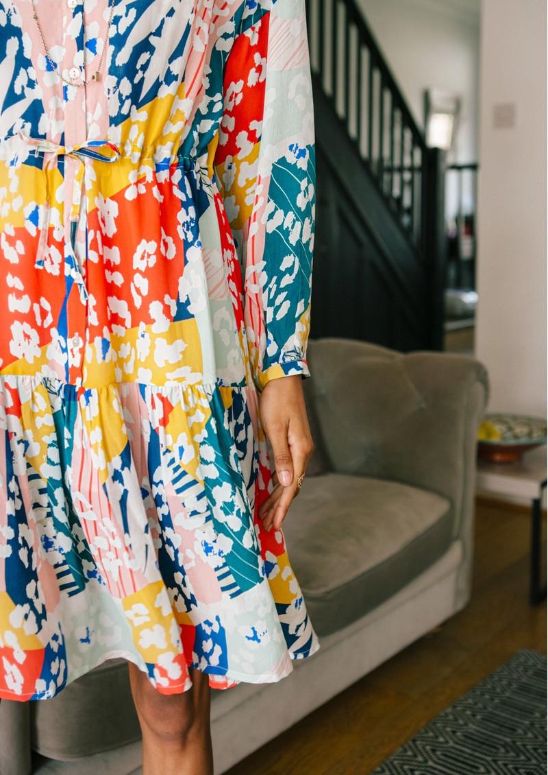 Pyrus Frances Drawstring Dress - Sienna main image
