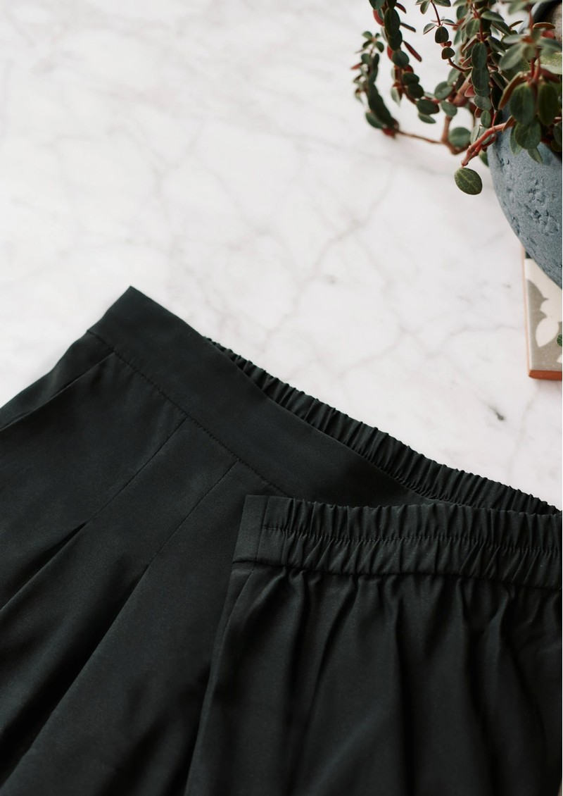 Pyrus Masha Silk Jogger - Black main image