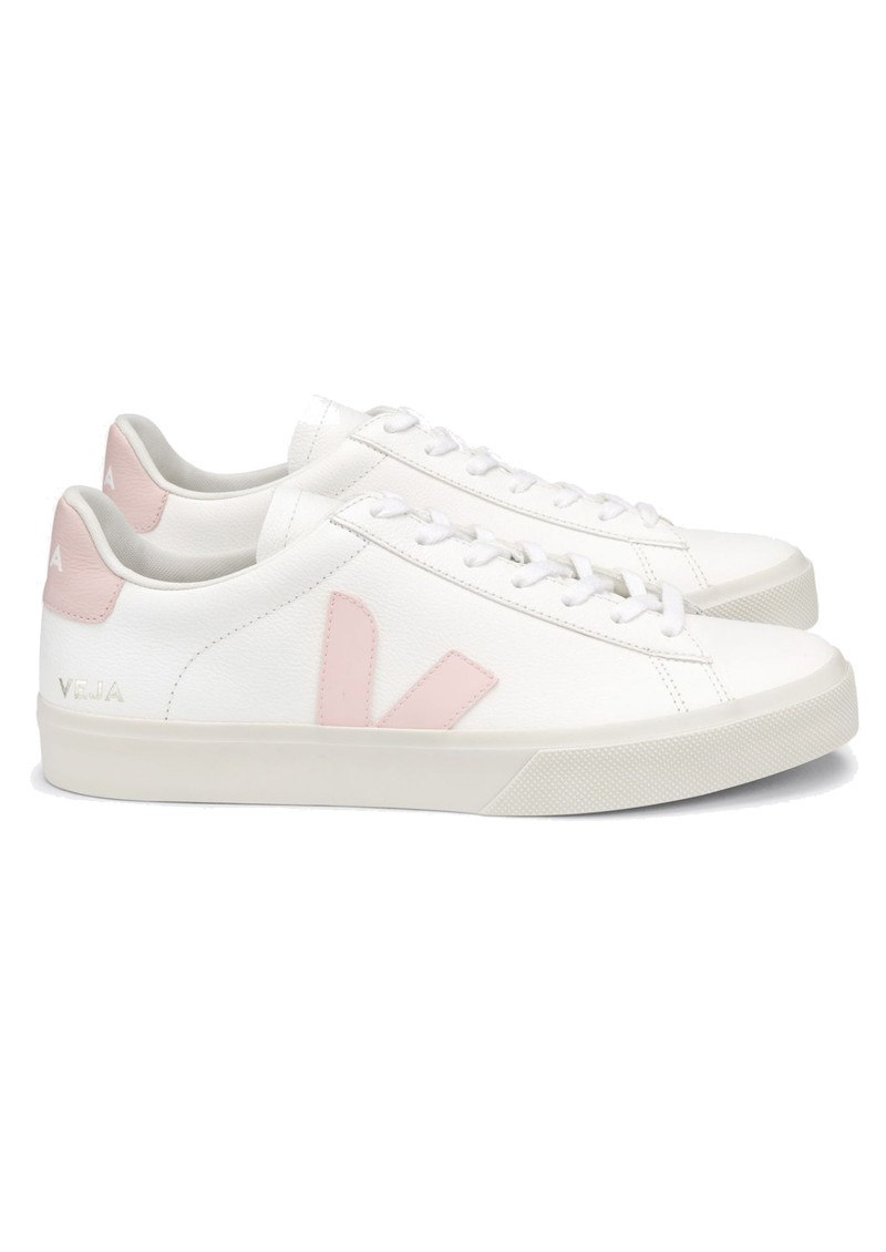 VEJA Campo Leather Trainers - Extra White & Petale main image