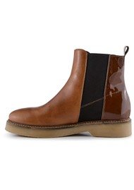 SHOE THE BEAR Billie Leather Chelsea Boot - Tan