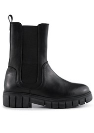 SHOE THE BEAR Rebel Chelsea High Leather Boots - Black