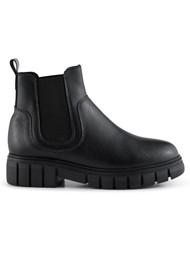 SHOE THE BEAR Rebel Chelsea Warm Leather Boots - Black
