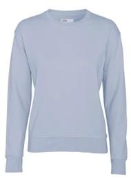 COLORFUL STANDARD Classic Crew Organic Cotton Sweatshirt - Powder Blue