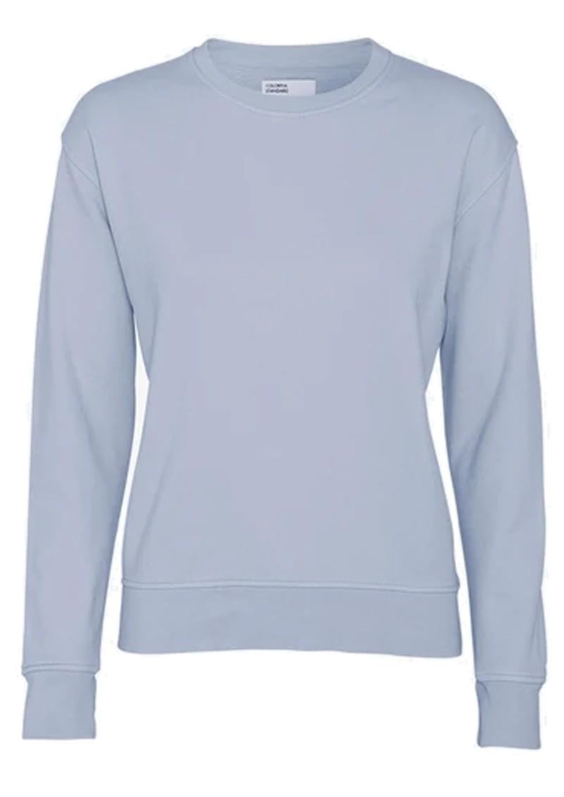 COLORFUL STANDARD Classic Crew Organic Cotton Sweatshirt - Powder Blue main image