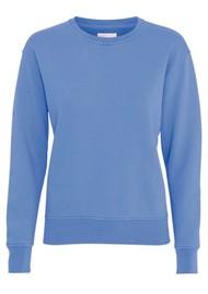 COLORFUL STANDARD Classic Crew Organic Cotton Sweatshirt - Sky Blue