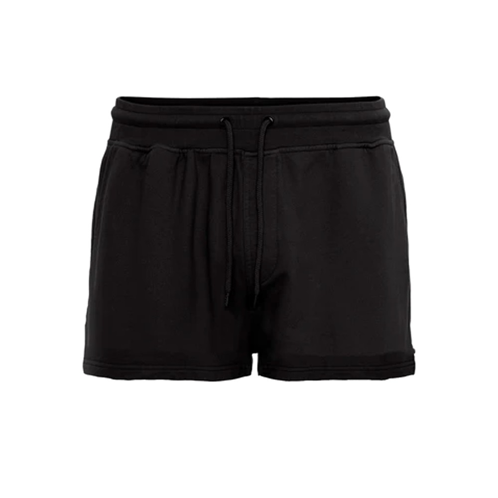 Organic Cotton Sweatshorts - Deep Black