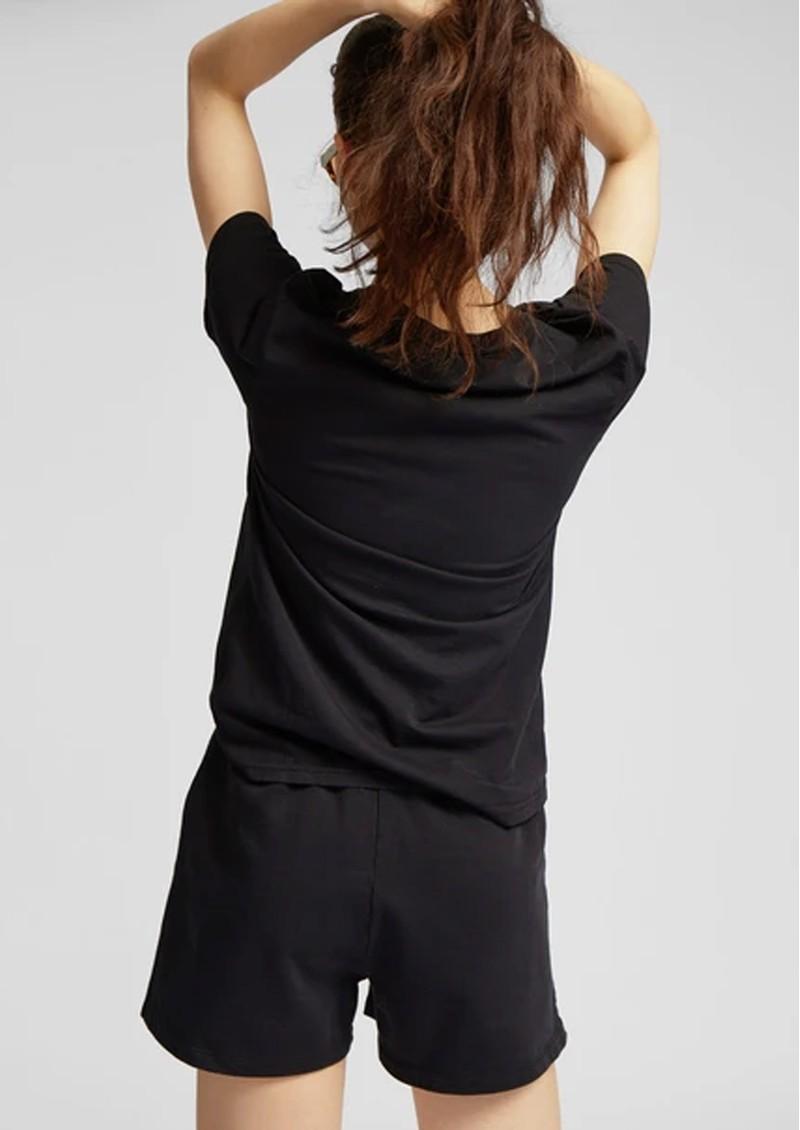 COLORFUL STANDARD Organic Cotton Sweatshorts - Deep Black main image