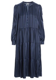 DEA KUDIBAL Cathrin Silk Dress - Pearl Blue