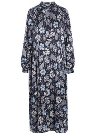 DEA KUDIBAL Bertha Silk Dress - Mystical Blue