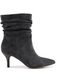 SHOE THE BEAR Agnete Slouchy Boot - Dark Grey