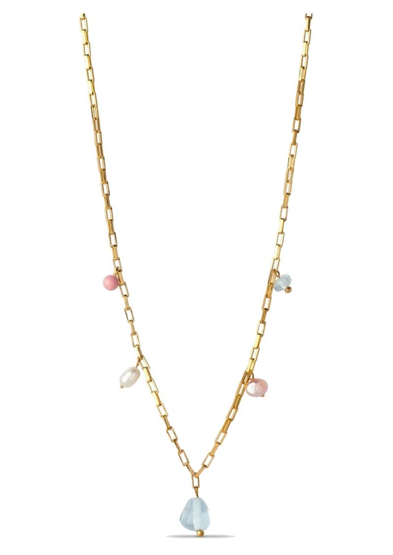 ENAMEL COPENHAGEN Mellow Freshwater pearl Necklace - Gold main image
