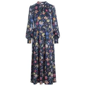 Seraphina Silk Dress - Botanica