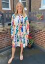 Frances Drawstring Dress - Sienna additional image