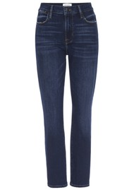 Frame Denim Le High Straight Jeans - Rosalie