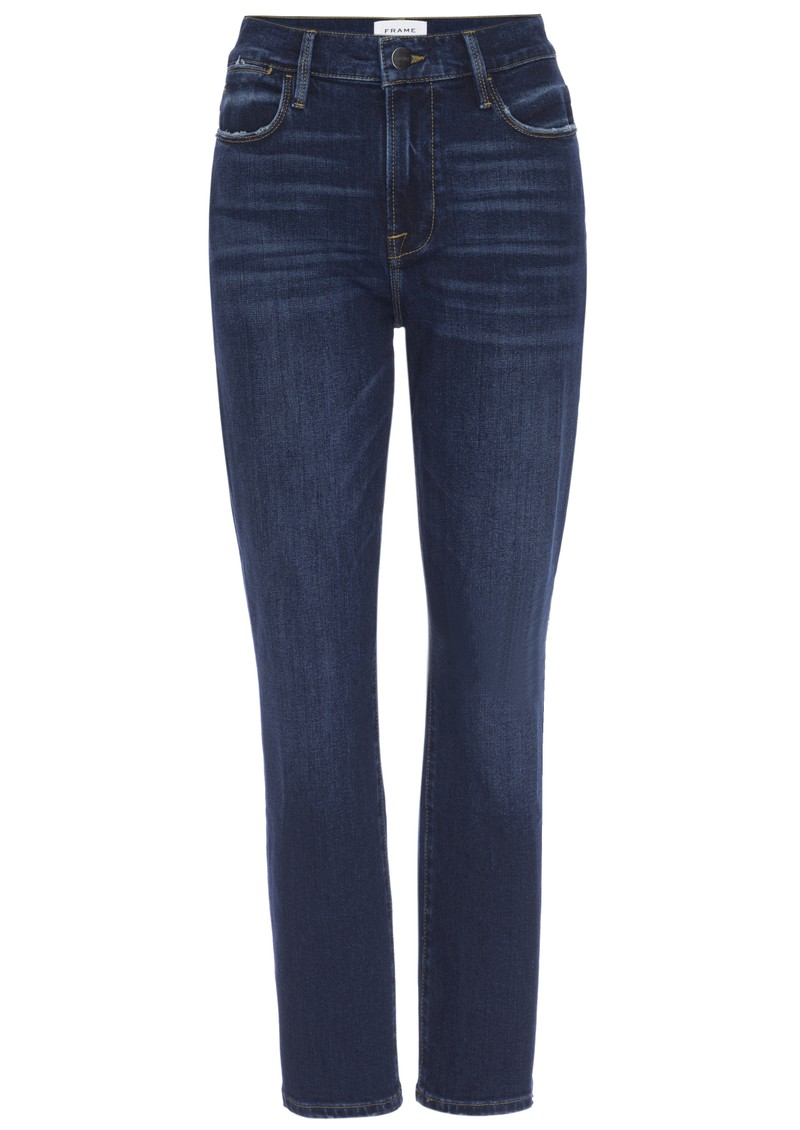 Frame Denim Le High Straight Jeans - Rosalie main image