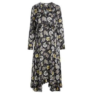 Valentina Silk Dress - Mystical Yellow