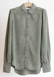 BERENICE Cleyton Shirt - Military Green