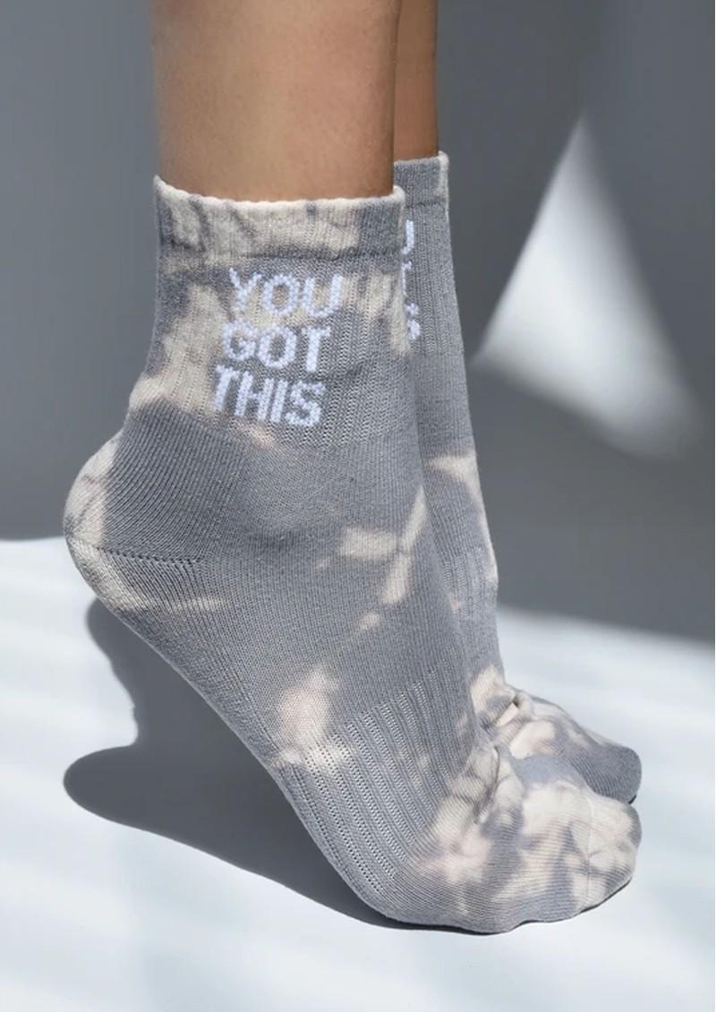 SOXYGEN You Got This Organic Cotton Socks - Dusk Tie Dye main image