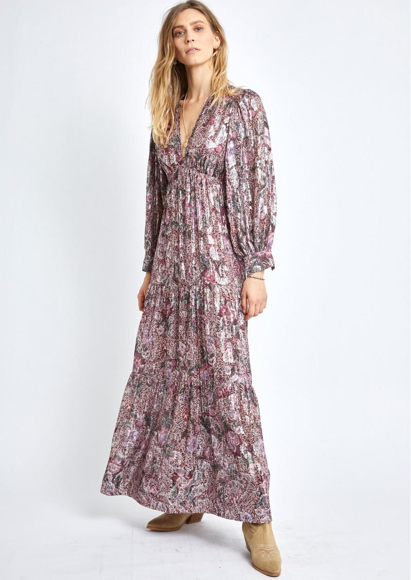 BERENICE Rym Floral Dress - Pink Midnight  main image
