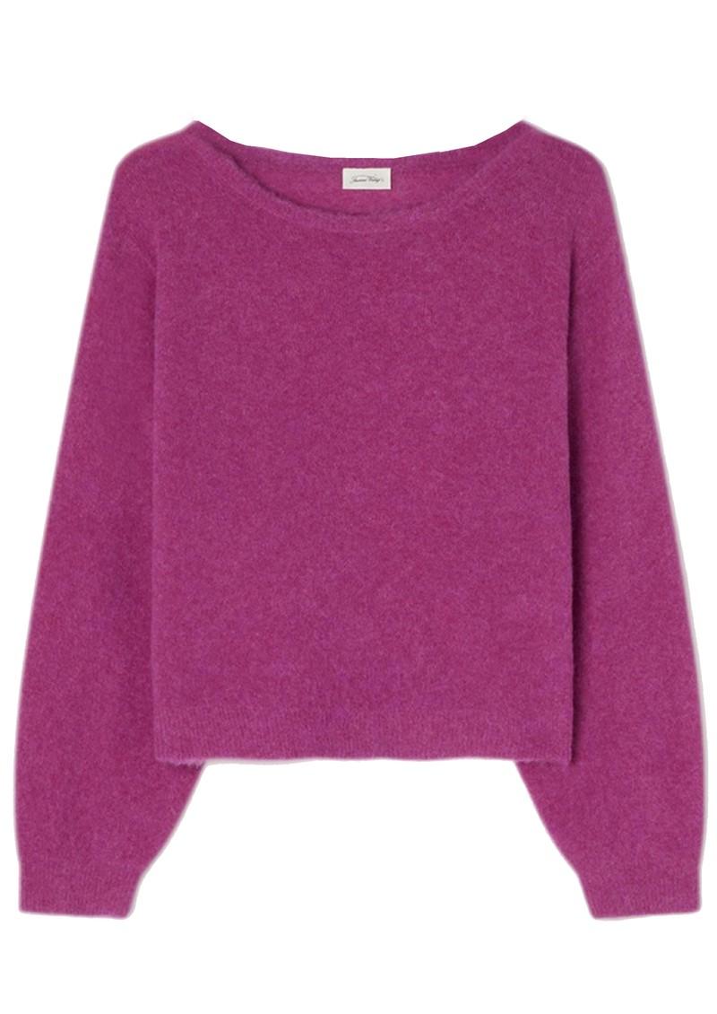 American Vintage Razpark Wool Mix Jumper - Indian Pink main image