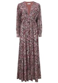 BERENICE Rym Floral Dress - Pink Midnight