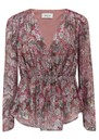 Touchy Floral Top - Pink Midnight  additional image