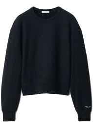 RAG & BONE City Organic Cotton Sweatshirt - Black Multi
