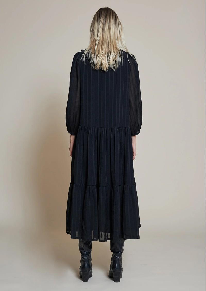 STELLA NOVA Nimi Collared Dress - Black main image