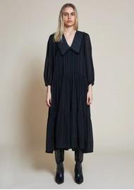 STELLA NOVA Nimi Collared Dress - Black