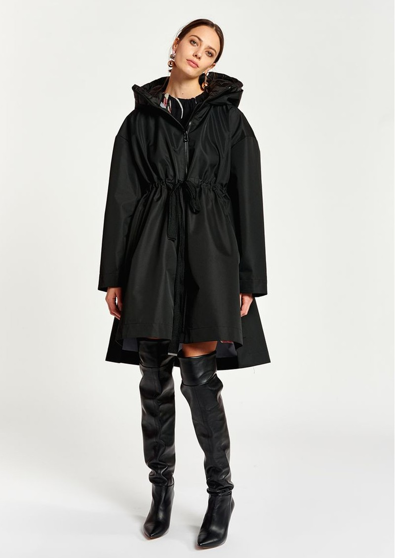 ESSENTIEL ANTWERP Affirm Rain Coat - Black main image