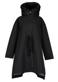 ESSENTIEL ANTWERP Affirm Rain Coat - Black