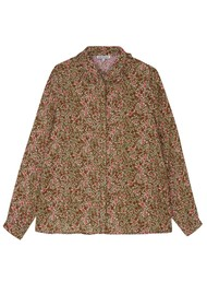 Lily and Lionel Beth Shirt - Astor Olive