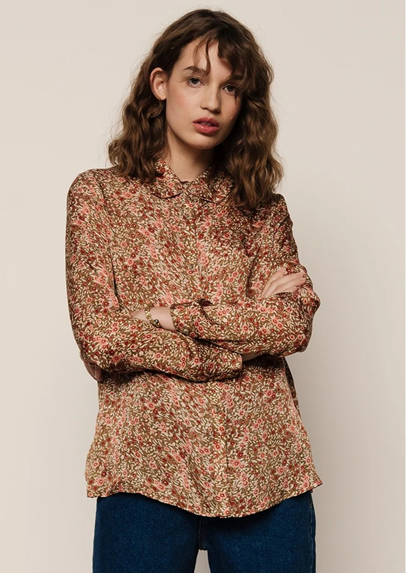 Lily and Lionel Beth Shirt - Astor Olive main image