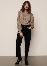 Lily and Lionel Abby Cotton Mix Shirt - Polka Animal