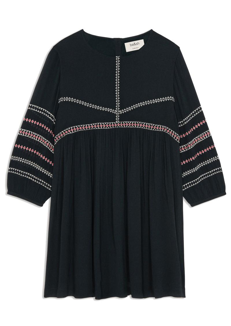 Ba&sh Colombe Dress - Carbone main image