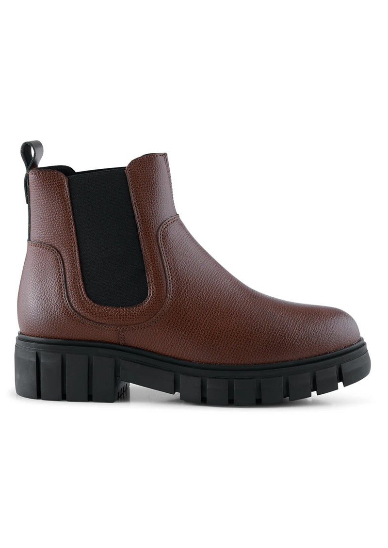 SHOE THE BEAR Rebel Chelsea Warm Leather Boots - Dark Brown main image