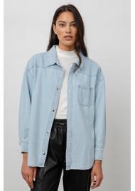 Rails Tripp Cotton Mix Denim Shirt - Light Vintage