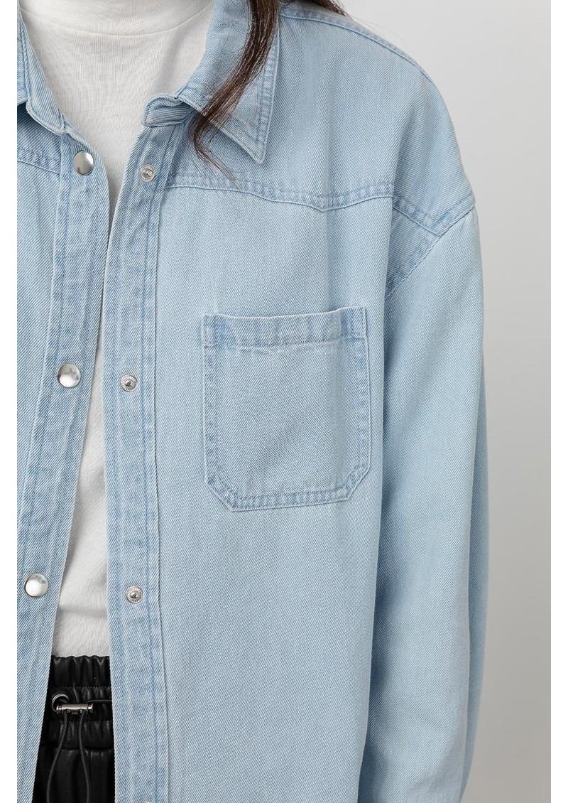Rails Tripp Cotton Mix Denim Shirt - Light Vintage main image
