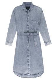 Rails Ames Denim Dress - Blue Acid Wash