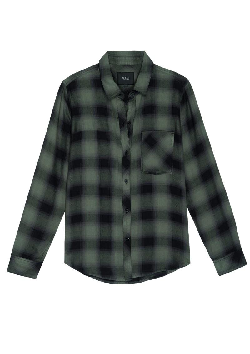 Rails Hunter Shirt - Moss Ash main image