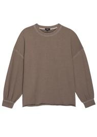 Rails Reeves Cotton Mix Sweatshirt - Toffee