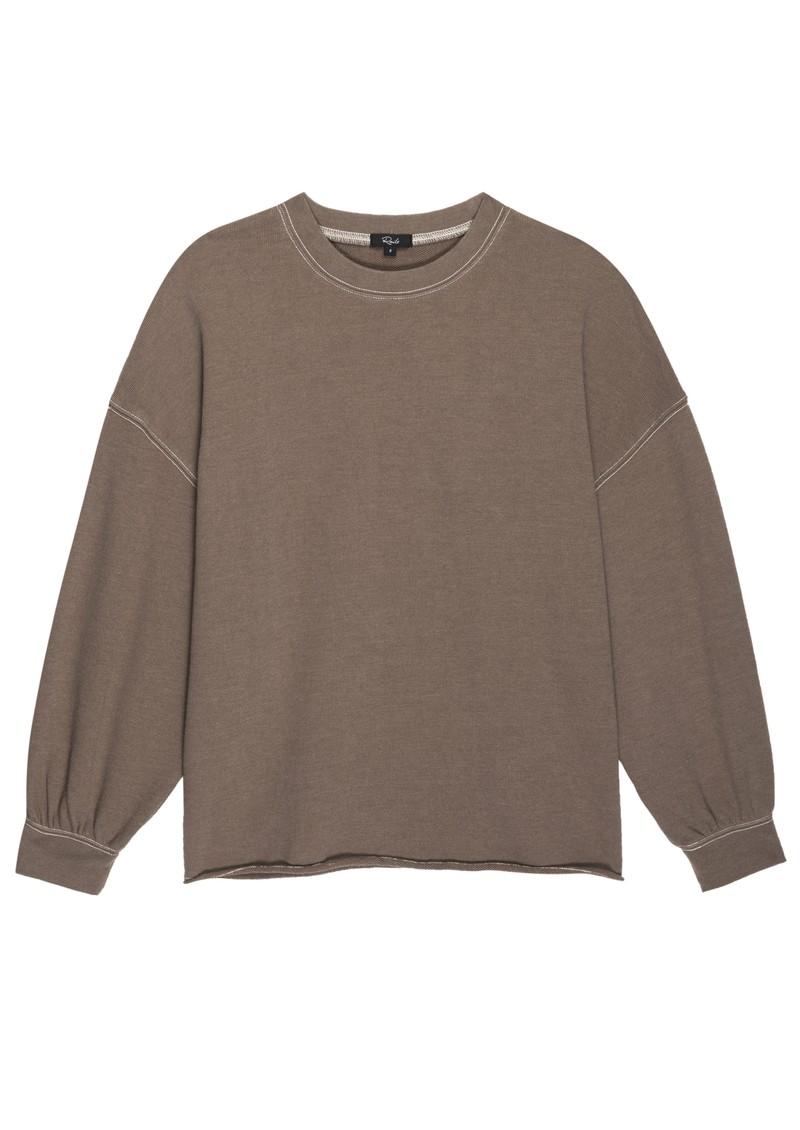 Rails Reeves Cotton Mix Sweatshirt - Toffee main image