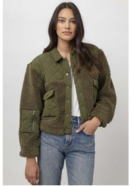 Rails Peyton Quilted Jacket - Olive