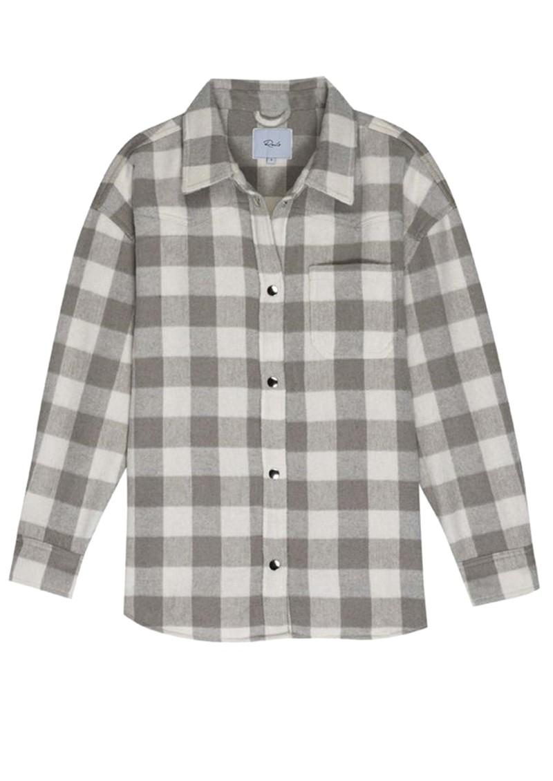 Rails Tripp Wool Mix Shirt Jacket - Ivory Rain main image