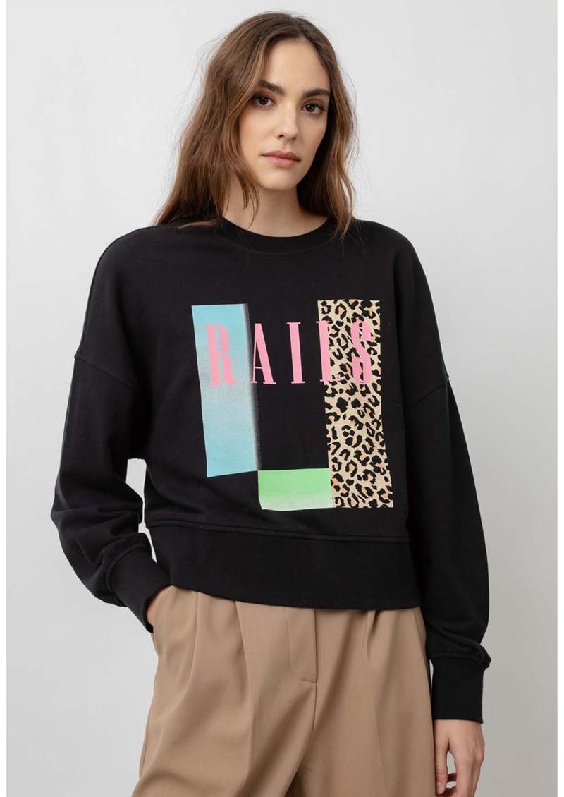 Rails Alice Cotton Sweatshirt - Neon Rails main image