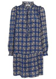 MOLIIN Melissa Printed Dress - Mazarine Blue